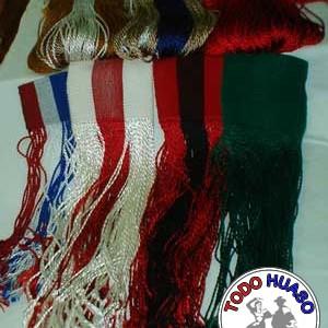 Flecos de Niño, Seda diferentes colores.