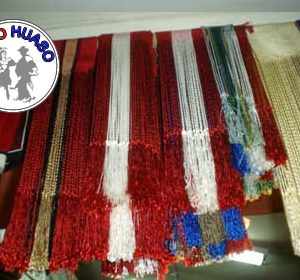Flecos de Seda diferentes colores.