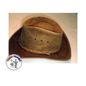 Sombrero de cuero Indiana.