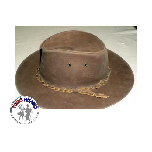 Sombrero de Cuero Dif.Tonos.