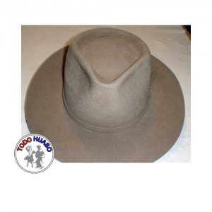 Sombrero de paño indiana.
