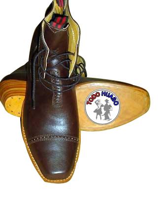 Zapato Huaso Emplantillado Cabritilla